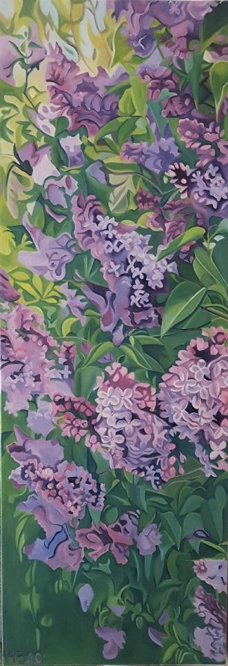 Syrener by Marie Fredborg | maleri