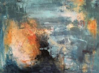 Poles apart by Lisbeth Rothman   maleri