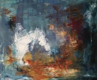 Uden navn by Lisbeth Rothman   maleri