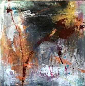 Beast II by Lisbeth Rothman | maleri