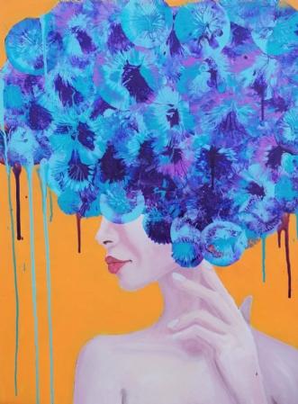 Creative wildness by Mette Egebæk | maleri