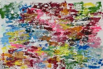 Colour Sky by Pernille Christensen | maleri