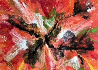 Fire Haeven by ArtbyKial | maleri