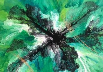 Energy Unleashed by ArtbyKial | maleri