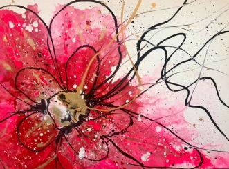 Pink BlossomafArtbyKial Madsen