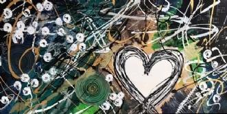 Fleurs d'hiver by ArtbyKial | maleri