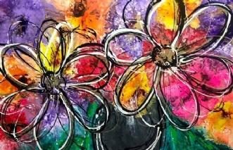 Flowers & LoveafArtbyKial Madsen