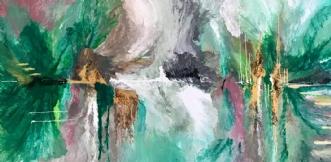 NORTHERN AURORA by ArtbyKial | maleri