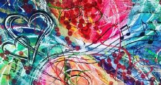Love n´Music by ArtbyKial | maleri
