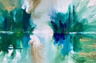 Silent Reflection by ArtbyKial | maleri
