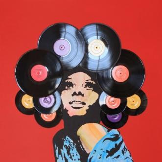 Vinyl Afro by Carsten Løvig | diverse