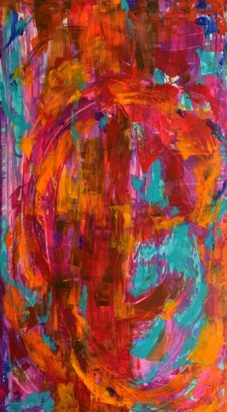 Et liv i farver by Tine Weppler | maleri
