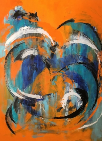 Blå skønhedafTine Weppler