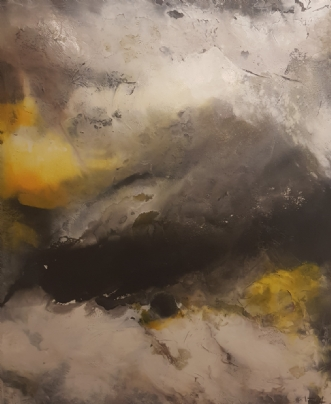 Tordenvejr by Maja Fogh | maleri