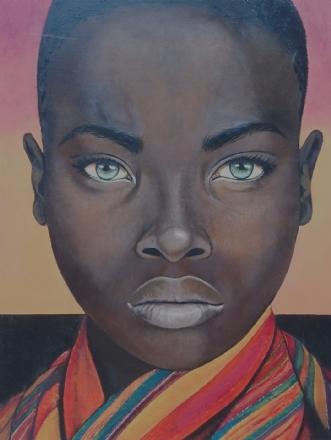 Kenya by Bente Jepsen | maleri