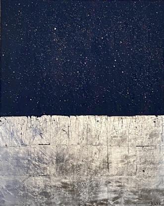 Starry starry night.. by Bjørk Nielsen | maleri