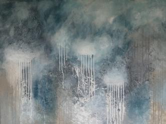 Springfeelings by Mette Viballe Kristensen | maleri