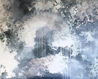 Shadows by Mette Viballe Kristensen | maleri