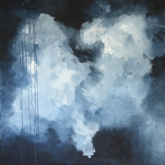 Teardrops from heav.. by Mette Viballe Kristensen | maleri
