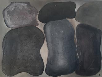 Heart of stone by Mette Viballe Kristensen | maleri