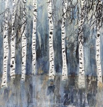 A213 by Susanne Mølby | maleri