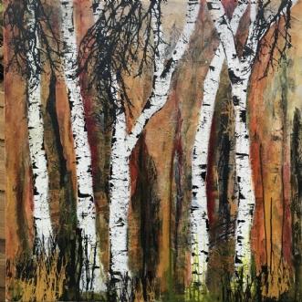 A101 by Susanne Mølby | maleri