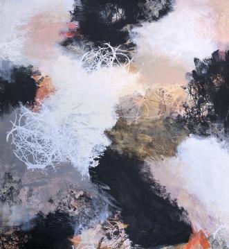 A105 by Susanne Mølby | maleri