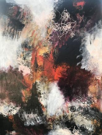 A106 by Susanne Mølby | maleri
