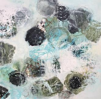 A107 by Susanne Mølby | maleri