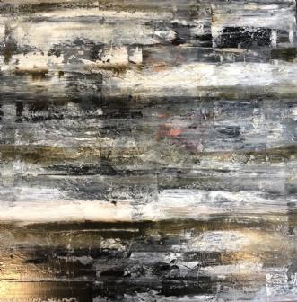 A123 by Susanne Mølby   maleri