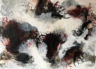 A124 by Susanne Mølby | maleri