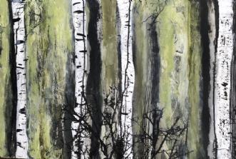 A166 by Susanne Mølby | maleri