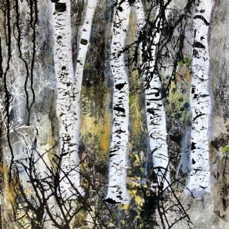 A161 by Susanne Mølby | maleri