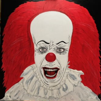 PENNYWISE 2 by Margith Kostending | maleri