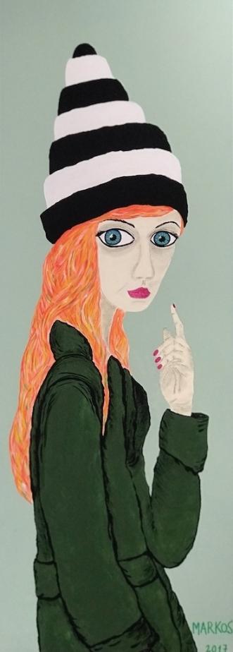 ELLETRUNTE by Margith Kostending | maleri