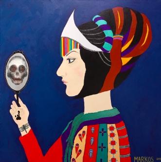 MEMENTO MORI by Margith Kostending | maleri