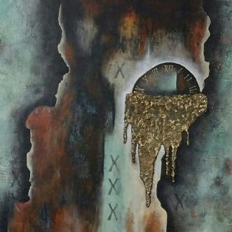 Tanker i tiden by Helle Søes | maleri