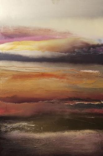 Dreaming desert by Luisa Romeri | maleri