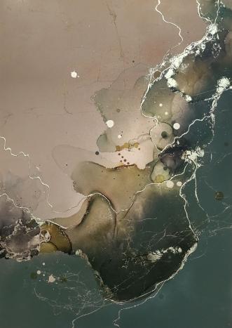 Green euphoria by Luisa Romeri | tegning