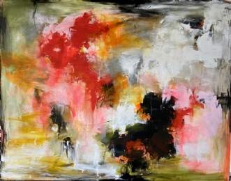 TAKE MY TIME by Heidi Rattenborg | maleri