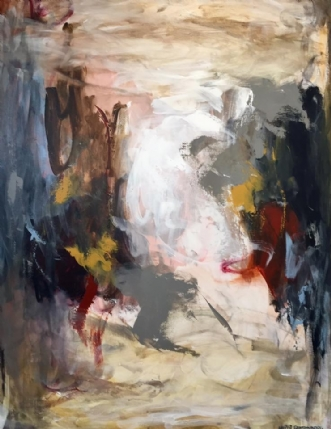 SOFT by Heidi Rattenborg | maleri