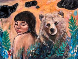 Tillid by Katrine Brungaard | maleri