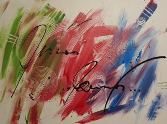 Happy by Brian Hessel Madsen | maleri