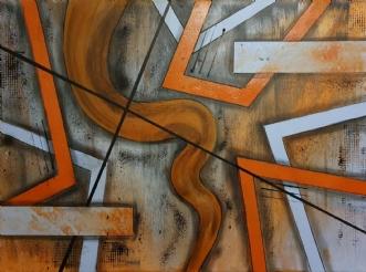 Twister by Brian Hessel Madsen | maleri