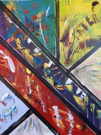 Borders by Brian Hessel Madsen | maleri