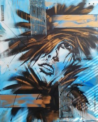 Annabelle by Brian Hessel Madsen | maleri