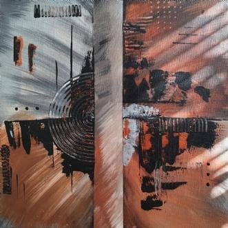 Dark Town by Brian Hessel Madsen | maleri