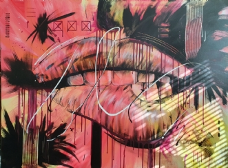 Naughty by Brian Hessel Madsen | maleri
