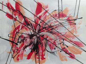 Funky by Brian Hessel Madsen | maleri