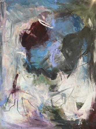 Lockdown 2, 2020 by Louise Hjorth Jespersen | maleri
